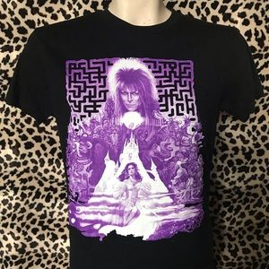 Labyrinth David Bowie 80s Rock T-shirt